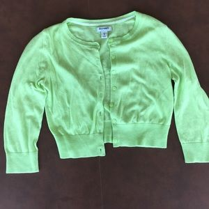 Light Green Old Navy Cardigan